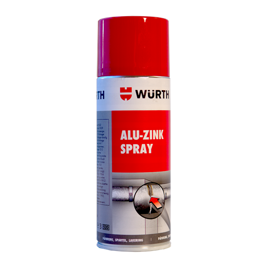 Zinkspray til efterbehandling, 400 ml